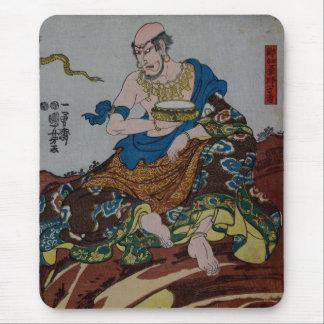 武士の食べ物 マウスパッド