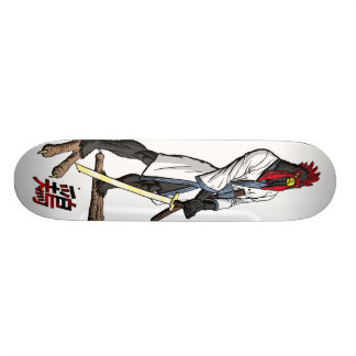 武士の鶏のスケートボードのリターン カスタムスケートボード