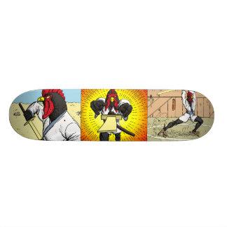 武士の鶏のスケートボードの物語 スケートボード