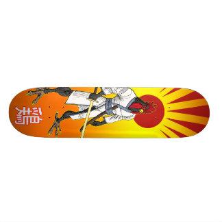 武士の鶏のスケートボード 18.7CM ミニスケートボードデッキ