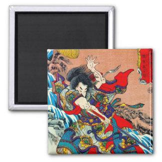 武士のBushiのクールな東洋の日本の伝説の芸術 マグネット