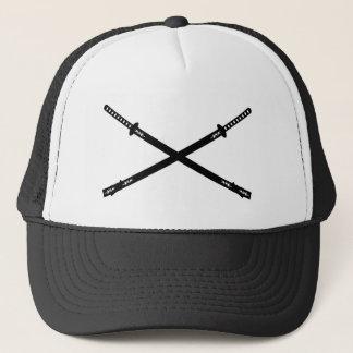 武士のKatanaの剣の帽子 キャップ