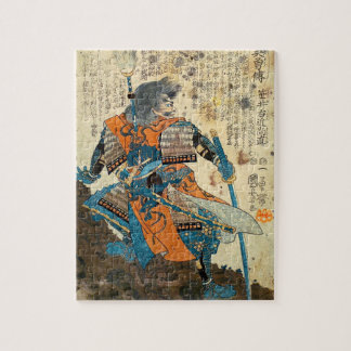 武士のOrenjiのパズル ジグソーパズル