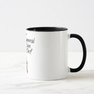 武士のSousのシェフ マグカップ
