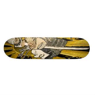 武士板 20.6CM スケートボードデッキ