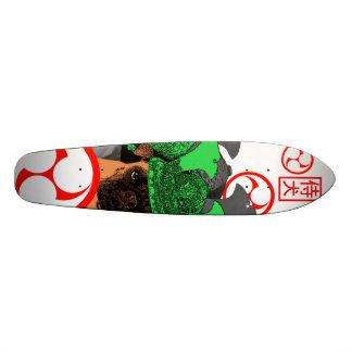 武士犬 スケートボード
