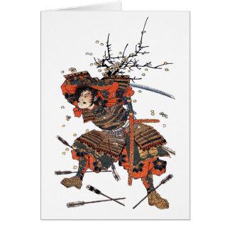 武士 カード