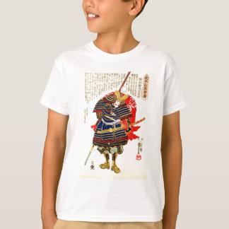 武士- Utagawa Kuniyoshiの歌川国芳 Tシャツ