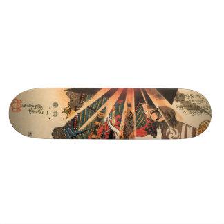 武士Iのスケートボード 19.7CM スケートボードデッキ