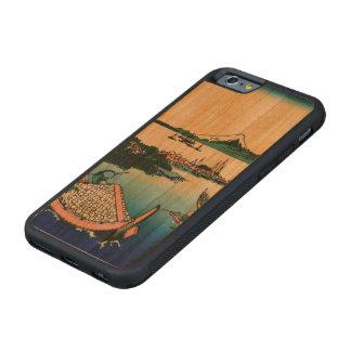 武蔵国のTsukadaの島 CarvedチェリーiPhone 6バンパーケース