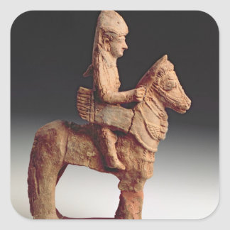 武装した騎手の小像、Byblosの第8第6セリウム スクエアシール