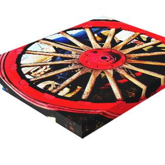 武装した|車輪|キャンバス|プリント  張りキャンバスプリント
