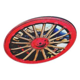 武装した|車輪|版 ディナープレート
