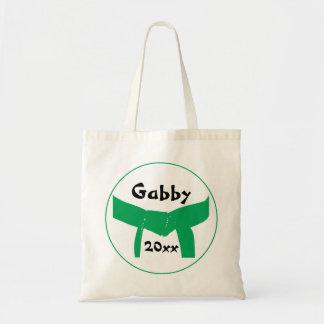 武道のグリーンベルト トートバッグ