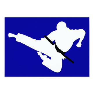 武道のシルエット カード