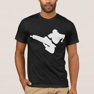 武道のシルエット Tシャツ