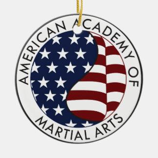 武道の収集できる物のアメリカアカデミー セラミックオーナメント