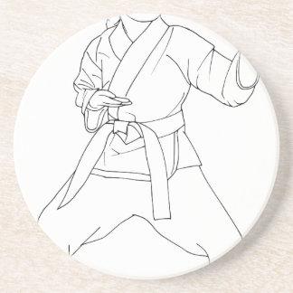 武道の女の子 コースター