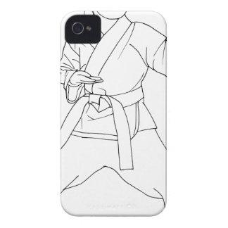 武道の女の子 Case-Mate iPhone 4 ケース