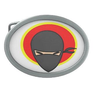 武道の忍者のマスクのベルトの留め金 卵形バックル