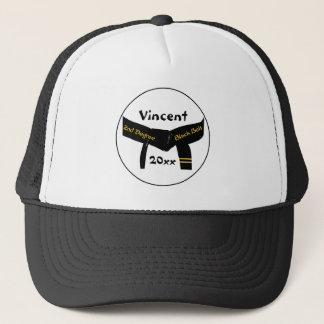 武道の第2程度の黒帯の帽子 キャップ