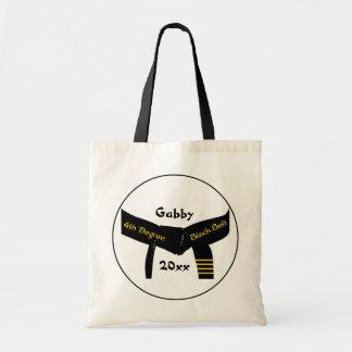武道の第4程度の黒帯 トートバッグ