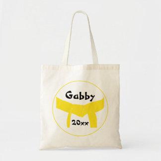 武道の黄色いベルト トートバッグ