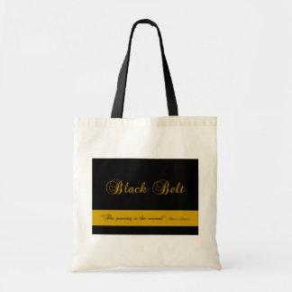 武道の黒帯の旅行のキャンバスのトートバック トートバッグ