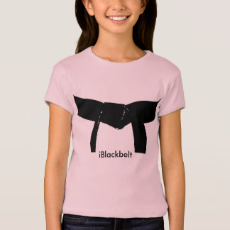 武道のiBlackbeltのTシャツ Tシャツ