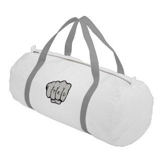 武道TKDの握りこぶしの穿孔器 ジムバッグ