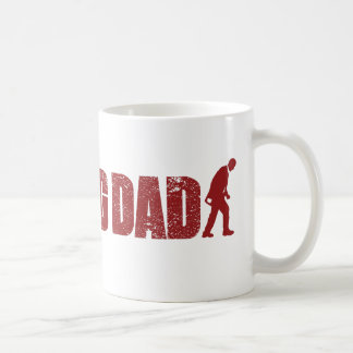 歩くのパパの父の日のマグ コーヒーマグカップ