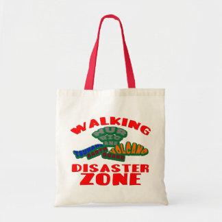 歩くの災害地帯 トートバッグ