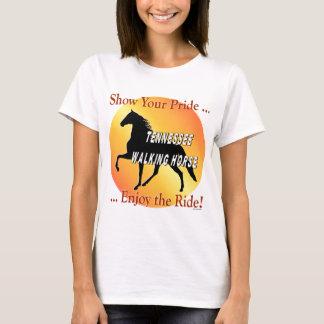 歩くの馬のプライド Tシャツ