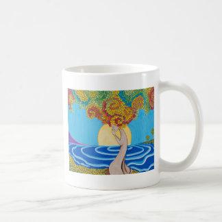 歩くの黙想 コーヒーマグカップ