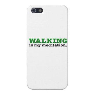 歩くはです黙想(緑の版) iPhone 5 カバー