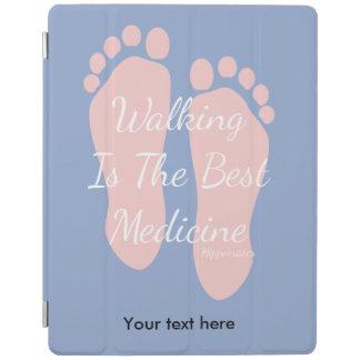 歩くは人で最も最高のな薬ヒポクラテスです iPadスマートカバー