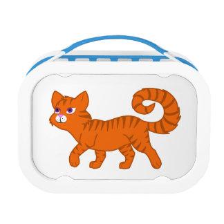 歩くオレンジ猫 ランチボックス