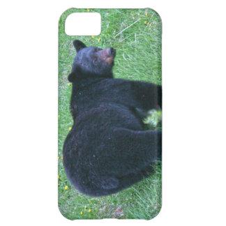 歩くツキノワグマの野性生物デザイナー箱 iPhone5Cケース