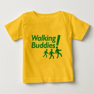 歩く歩くの相棒の刺激 ベビーTシャツ
