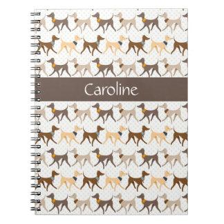 歩く猟犬 ノートブック