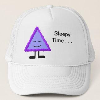 歩く走り書き-眠い-帽子 キャップ