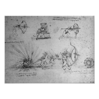 歩兵および爆発のための盾 ポスター