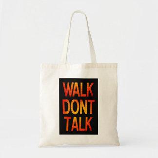 歩行は話しません トートバッグ