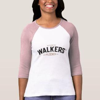 歩行者の確実なタイポグラフィ Tシャツ