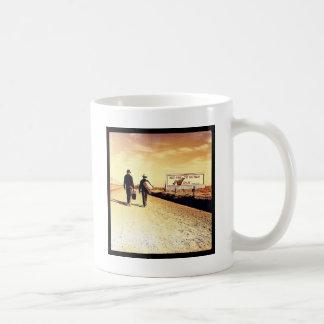 歩行者 コーヒーマグカップ