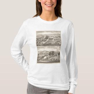 歩行者、Knittelの住宅、農場 Tシャツ