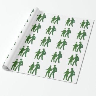 歩行nの話の緑の環境nvn40のnavinJOSHI ラッピングペーパー