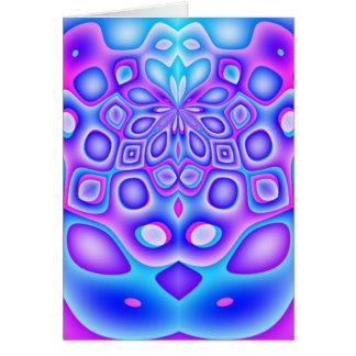 歪められた幾何学のラマダーンの挨拶状 カード