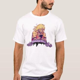歪められた眺めのワイシャツ Tシャツ