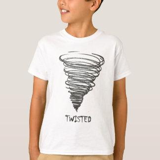 歪んだトルネード Tシャツ